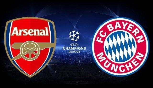 Arsenal - Bayern Münih karşılaşması şifresiz olarak TRT 1 ekranında!