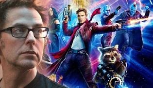 James Gunn, Guardians of the Galaxy 3 filmine geri döndü