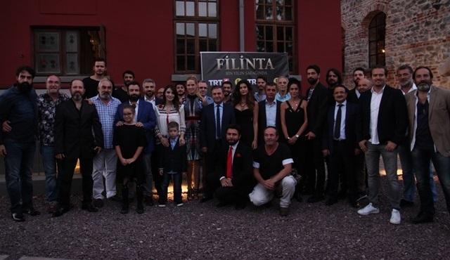 Filinta 'Bin Yılın Şafağında' yeni sezona tüm ekiple birlikte merhaba dedi!