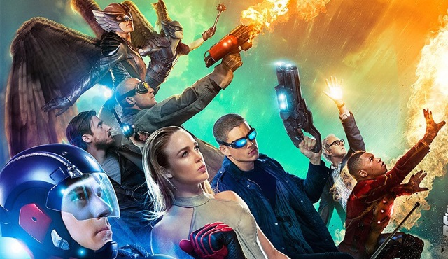 Legends of Tomorrow için yeni bir poster geldi