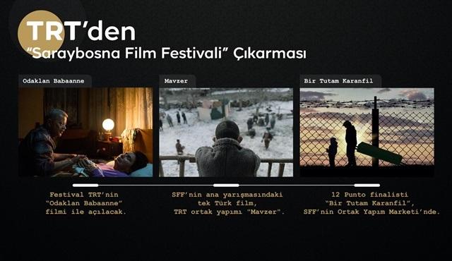 TRT, Saraybosna Film Festivali'ne üç filmle katılacak!