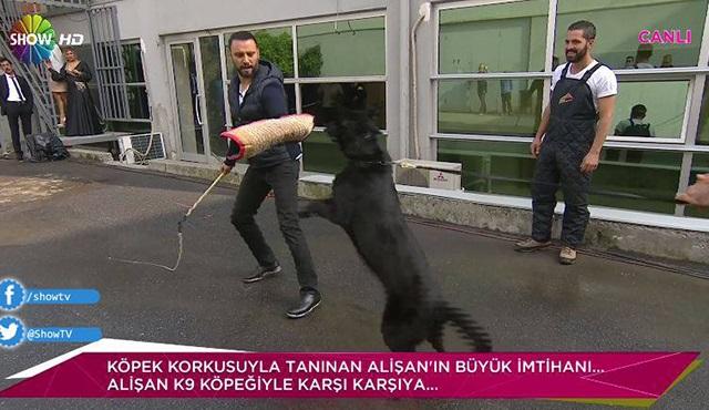 K9 köpeğinin Alişan ile büyük imtihanı!