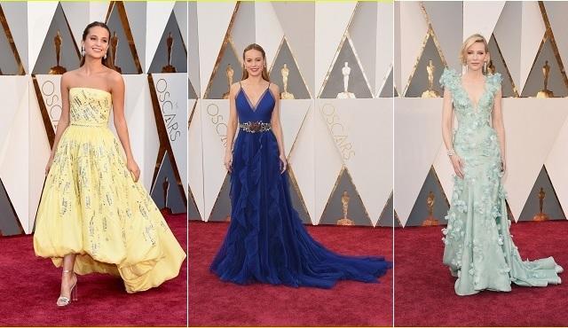 Oscar 2016'dan Kırmızı Halı manzaraları