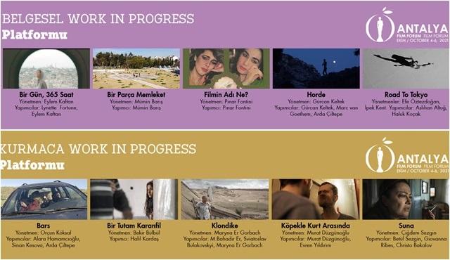 Antalya Film Forum projeleri açıklandı!