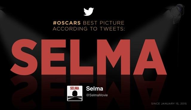 """Tweet'lere göre """"En İyi Film"""" Oscar'ı, Selma'nın olacak!"""