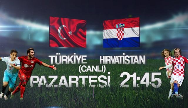 Hırvatistan – Türkiye maçı TV8'de ekrana geliyor!