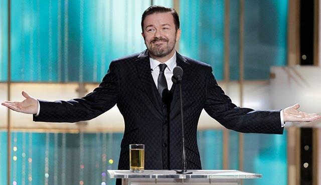 Ricky Gervais'ten Altın Küre Ödülleri için özür geldi