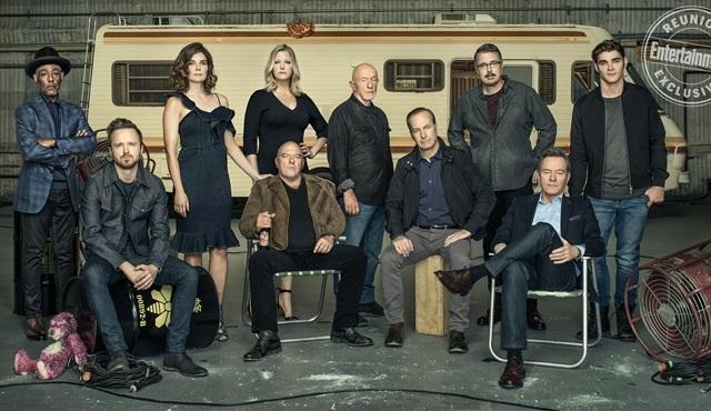 Breaking Bad ekibi dizinin 10. yıl dönümünde bir araya geldi