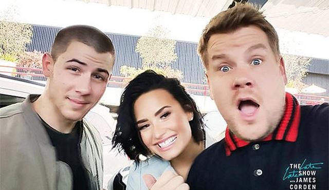 Carpool Karaoke, Nick Jonas ve Demi Lovato'yu ağırlayacak