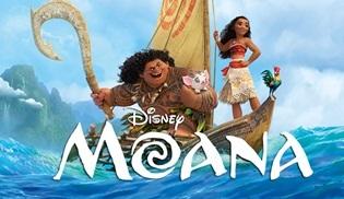 Disney'in yeni animasyonu Moana 20 Ocak'ta vizyona giriyor