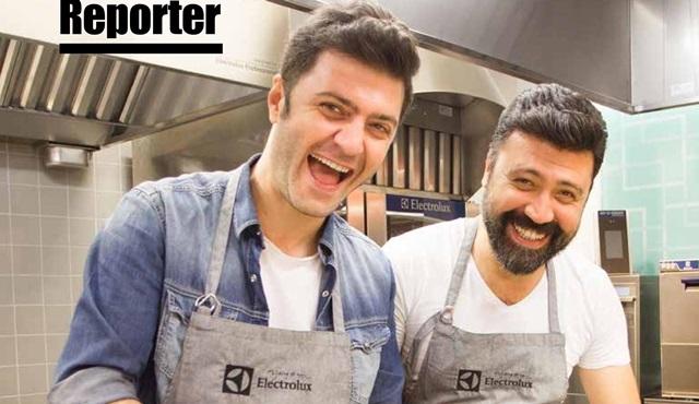 Şahin Irmak ve Bülent Emrah Parlak mutfakta!