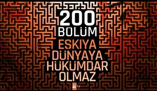 Eşkıya Dünyaya  Hükümdar Olmaz dizisi 200. bölüme özel kutlama yaptı!