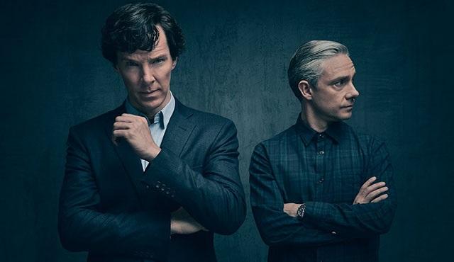 Sherlock'un 4. sezonundan yeni bir kare gün yüzüne çıktı