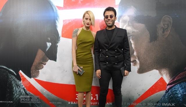 Didem Soydan ve Mert Vidinli, Batman v Superman filminin galasına katıldılar!