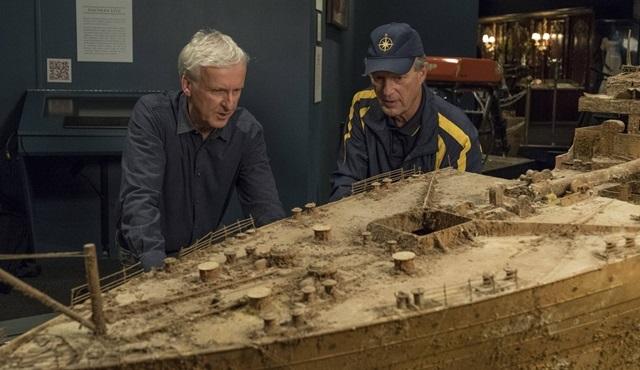 James Cameron 20 yıl sonra Titanic'e geri dönüyor!