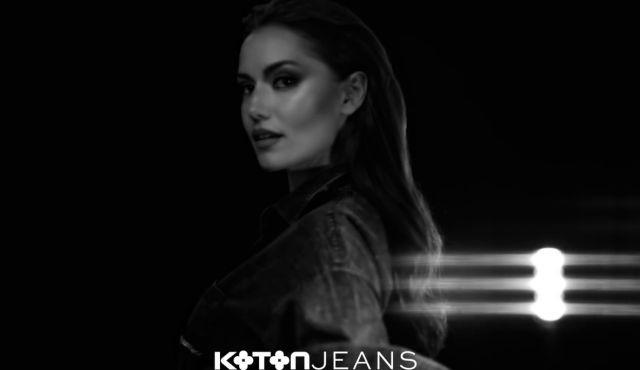Fahriye Evcen'in reklam yüzü olduğu Koton Jeans reklamı yayınlandı!