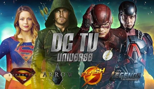The CW'nun beş DC Comics dizisinin ortak tanıtımı yayınlandı