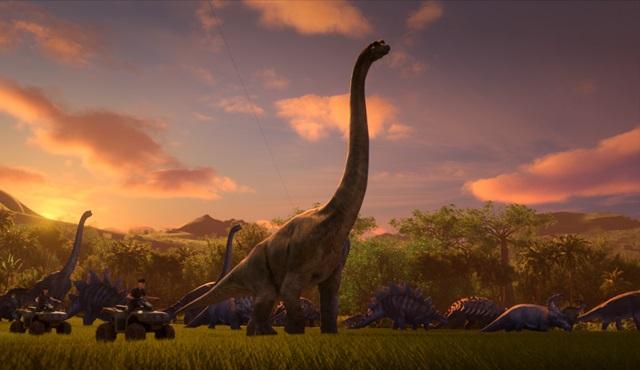 Netflix, yeni orijinal dizisi Jurassic World Kretase Kampı'nın tanıtım fragmanını paylaştı