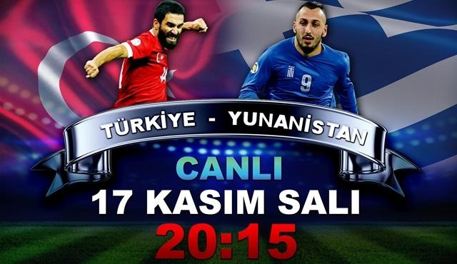 Türkiye – Yunanistan hazırlık maçı TV8'de!
