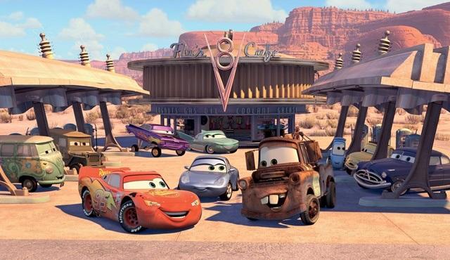 Arabalar 3 filmi Tv'de ilk kez atv'de ekrana gelecek!