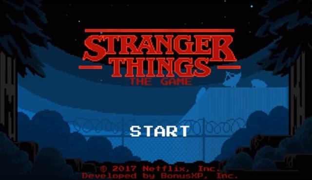 Stranger Things dizisinin oyunu da çıktı
