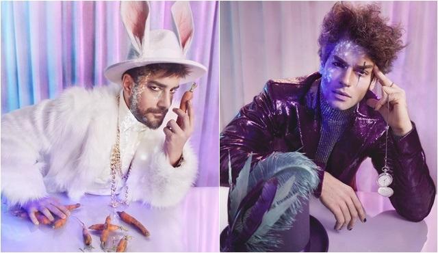 İşte Alice Müzikali'nin Tavşan'ın Enis Arıkan ve Şapkacı'sı Şükrü Özyıldız