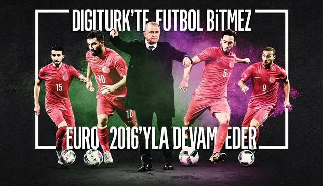 Digiturk, 4K teknolojisini Euro 2016 Avrupa Futbol Şampiyonası ile evlere taşımaya başlıyor!