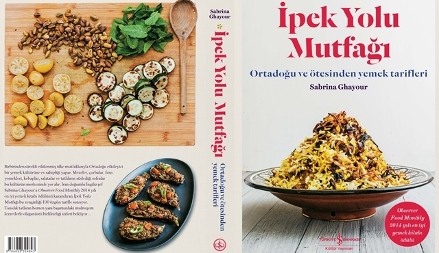 2014 yılı En İyi Yemek Kitabı Ödülü'nü kazanan İpek Yolu raflarda!