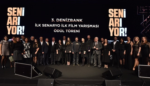 DenizBank İlk Senaryo İlk Film Yarışması'nda ödüller sahiplerini buldu!