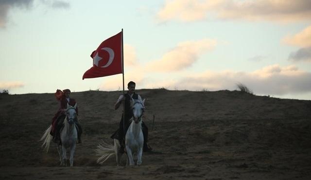 Mehmetçik Kutlu Zafer'in platosu Hollywood filmlerini aratmıyor!