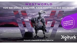 HBO'nun fenomen dizisi Westworld ikinci sezonuyla da Digiturk'te!