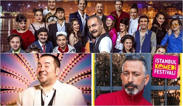 Uluslararası İstanbul Komedi Festivali için geri sayım başladı!