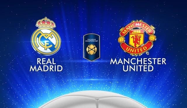 Real Madrid - M.United Uluslararası Şampiyonlar Kupası maçı Kanal D'de ekrana geliyor!