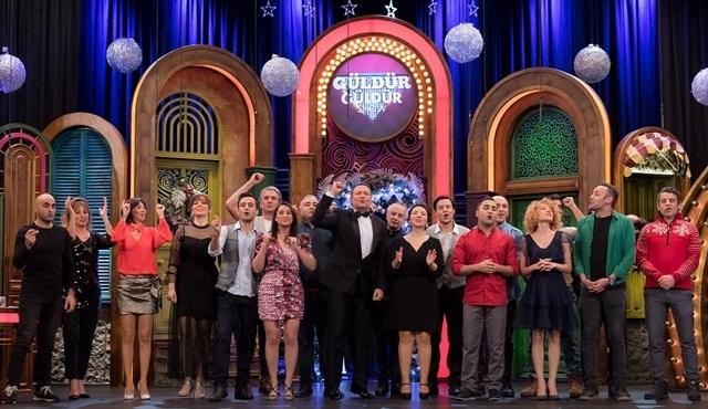 Güldür Güldür Show yılbaşı özel bölümüyle Show TV'de ekrana gelecek!