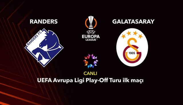 Randers – Galatasaray UEFA Avrupa Ligi Play-Off maçı Star Tv'de ekrana gelecek!