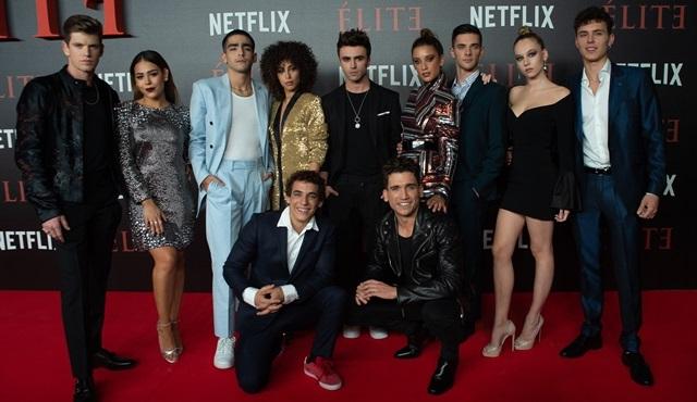 Netflix'in yeni gençlik dizisi Elite'nin dünya prömiyeri Madrid'de yapıldı