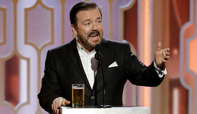Ricky Gervais, Oscar'la ilgili ilginç yorumlarda bulundu