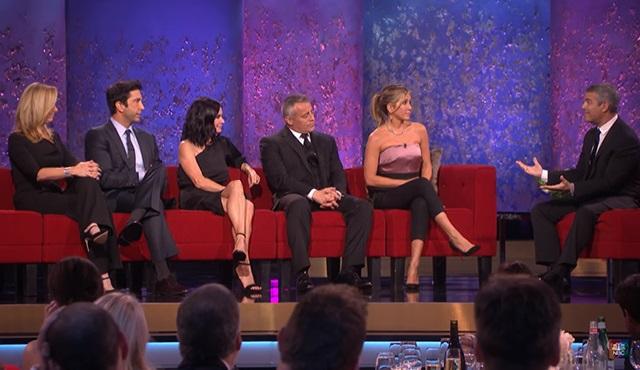 Friends ekibini buluşturan özel yayından bir tanıtım daha geldi