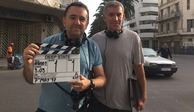 FOX Networks Group'un ilk senaryolu iç yapımı Deep State'in çekimleri başladı!