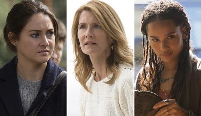 Laura Dern, Shailene Woodley ve Zoë Kravitz de Big Little Lies'a geri dönüyor