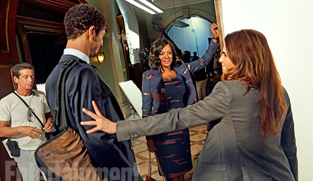 How to Get Away with Murder'dan 3. sezon set fotoğrafları geldi