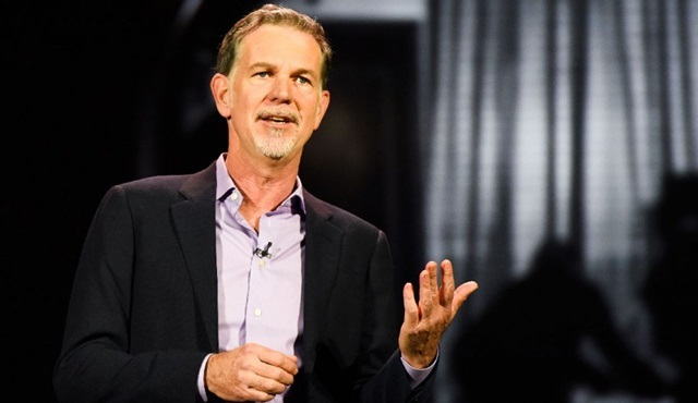 Netflix'in CEO'su Reed Hastings'in 2018 geliri 29.4 milyon dolara çıktı