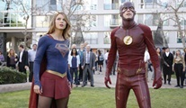 The Flash ve Supergirl