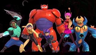 6 Süper Kahraman filmi atv'de ekrana gelecek!
