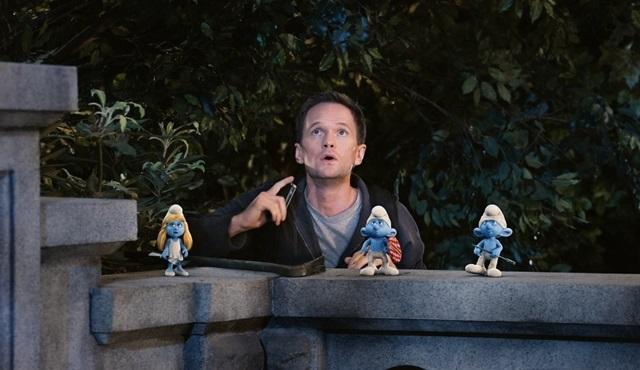 Neil Patrick Harris'li Şirinler'i izlemeyen var mı?