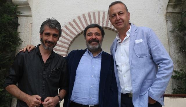 Ahmet Ümit Paramparça dizisinin setini ziyaret etti!