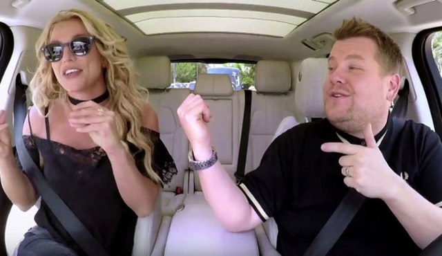 The Late Late Show with James Corden'ın konuğu Britney Spears oldu!