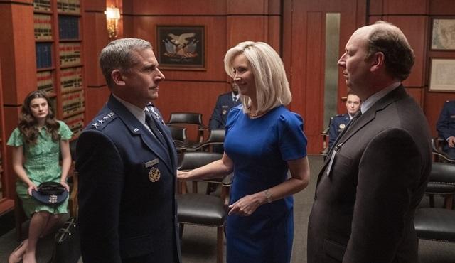 Netflix'in Steve Carrel ve John Malkovich'li yeni dizisi Space Force 29 Mayıs'ta başlıyor