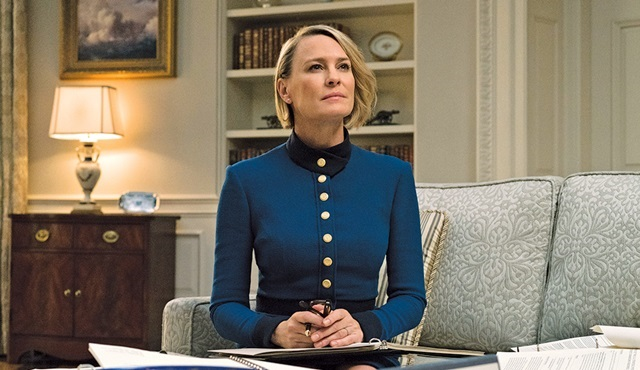 House of Cards'ın 6. sezon çekimleri yeniden başladı
