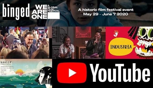 20 büyük festival, filmleri Youtube'da yayınlamak üzere birleşti